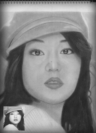 Jun Ji-hyun by perl23